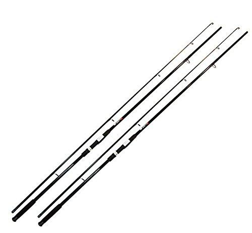 2x pesca de carpas Carp Rod 2,75libras (2piezas, 3,60m