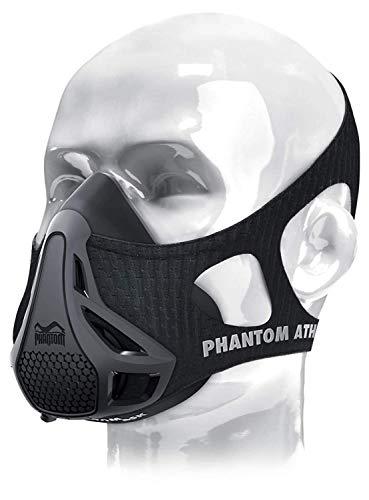 Phantom Máscara de entrenamiento Athletics, unisex, máscara de entrenamiento, M