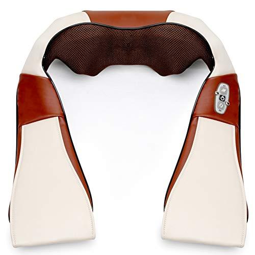 Hals-Massagegerät-Hals-Taillen-Schulter-knetende Massage-Massage-Schal-Heizungs-Tiefe entlasten Ermüdungs-Familien-Auto-Gebrauch