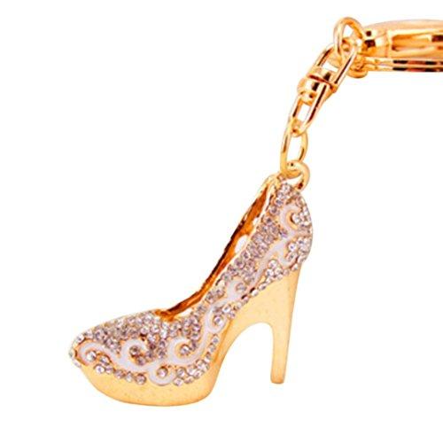 lavany Schlüssel Kette Frauen Schuhe High Heels Form Stick Metall Schlüsselanhänger Auto Schlüsselanhänger Geschenk C Stick Form