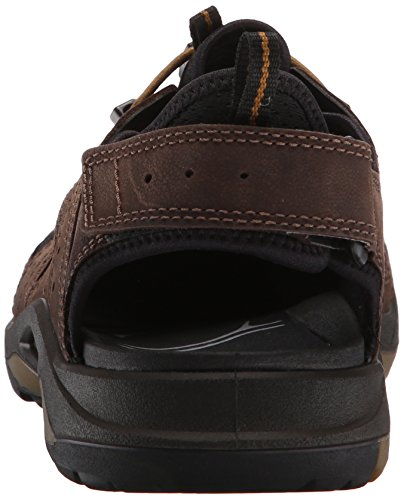 Ecco Ecco Biom Delta, Chaussures Multisport Outdoor homme Marron (59430Coffee/Black/Dried Tobacco)