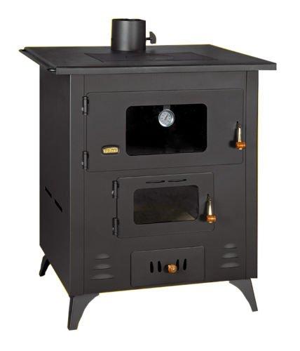 14 kw Kochen Holz Verbrennung Herd Vielstoff Gusseisen Top groß Ofen Prity R (Backofen-brenner Top)