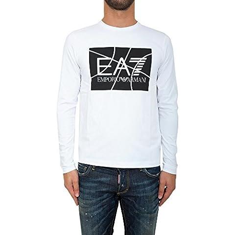 T-shirt EA7 EMPORIO ARMANI Uomo 6XPT88 PJ20ZE1100 Bianco IG0406XPT88-PJ20ZE1100