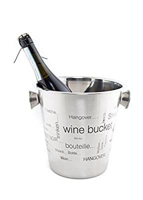 Sungo 4 Quart Wine/ice/champagne Bucket,