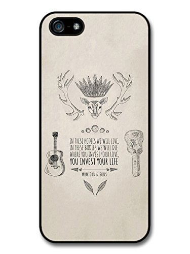 Mumford & Sons In These Bodies We Will Live Illustration case for iPhone 5 5S