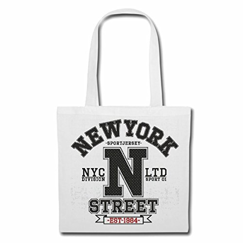 sac à bandoulière NEW YORK STREET DIVISION NEW YORK CITY AMÉRIQUE CALIFORNIA USA ROUTE 66 SHIRT BIKER MOTORCYCLE NY NYC LIBERTY ÉTATS-UNIS BRONX BROOKLYN LOS ANGELES MANHATTAN Sac Turnbeutel scolair