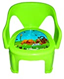 #6: Blossoms Multipurpose Small Chair For Kids Baby - Green