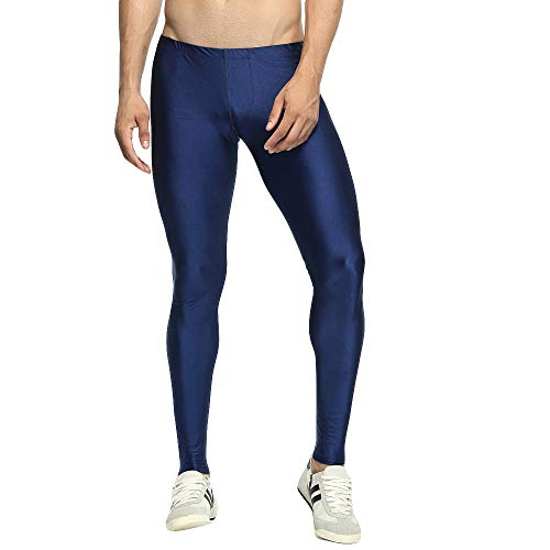 Celucke Sport Leggings Herren Laufhose Strumpfhose, Männer Funktionswäsche Pro Cool Compression Tights Fitness Hose mit Quick Dry Funktion