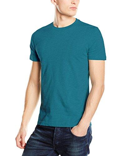 Stedman Apparel Herren T-Shirt James (Crew Neck)/st9200 Premium Blau - Pacific Blue