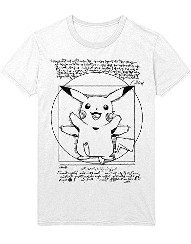 T-Shirt Vitruvian Pika C112253 Weiß M