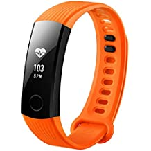 (CERTIFIED REFURBISHED) Honor Band 3 Activity Tracker (Orange)
