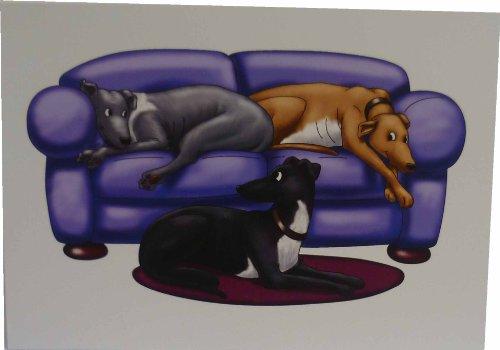 greyhounds-canap-cartes-lot-de-10