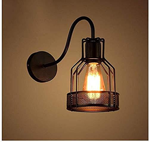 Hauptdekorationslampe E27 personalisierte Metall nostalgische Wandleuchte Dachboden Lager Industrie Bar Cafe Wandleuchte Schrank Wohnzimmer Wandleuchte Wandleuchte -