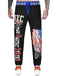 Challeng Hose Herren Angebote Bequeme Hosen,Traveler Trousers,Herren Tanzen  Sportkleidung Lässige Baggy Haremshose… 61c8192de8