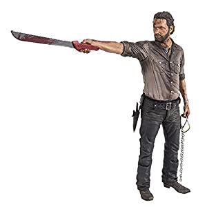 Action Figur The Walking Dead TV Rick Grimes Vigilante 25 cm [Importación Alemana] 1