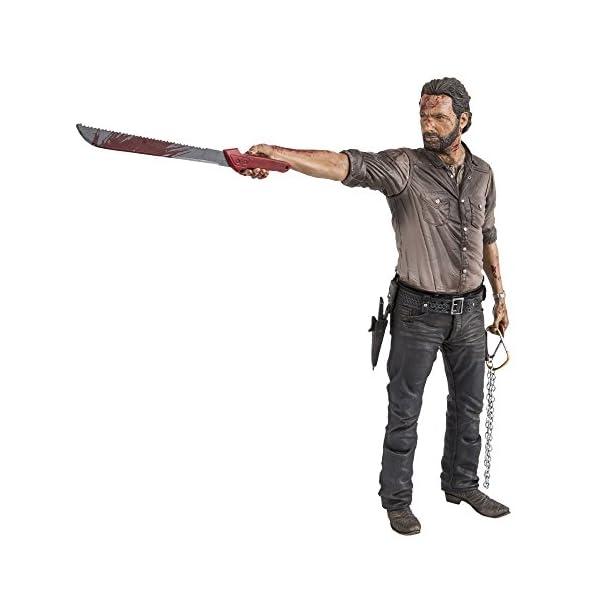 Action Figur The Walking Dead TV Rick Grimes Vigilante 25 cm [Importación Alemana] 1
