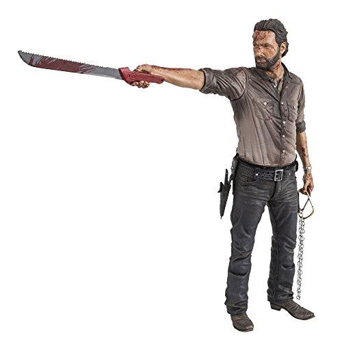 "Mcfarlane Toys The Walking Dead Tv 10"" Rick Grimes Vigilante Edition Deluxe Figura"