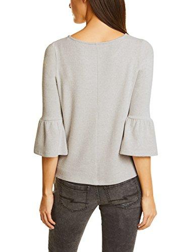 Street One Damen Pullover Weiß (Shell White Melange 10569)