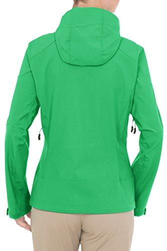 Vaude Tyresta Veste pour femmes Vert - Vert sauterelle