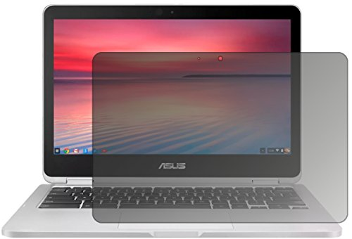 dipos I Blickschutzfolie matt passend für Asus Chromebook Flip 2 Sichtschutz-Folie Bildschirm-Schutzfolie Privacy-Filter