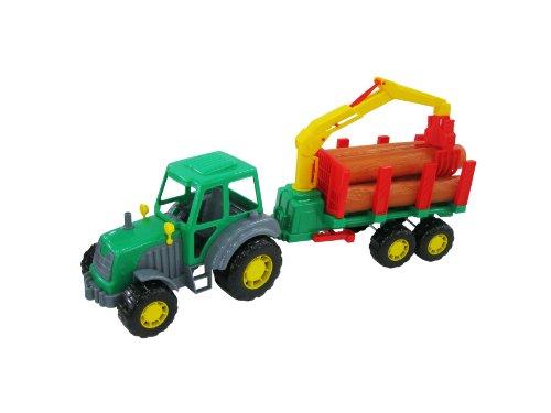 polesie 35370Fahrzeuge Traktor mit Trailer No 1 Preisvergleich