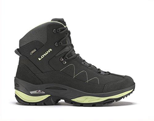 Lowa Toro Ii Gtx Mid Ws, Stivali da Escursionismo Donna Grigio (Anthrazit/Mint)