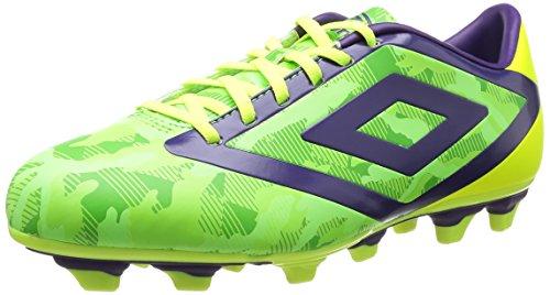 Umbro - Geo Flare Club Fg, Scarpe da calcio Uomo Verde (Vert (Cn3 Vert Camo/Mure/Jaune))