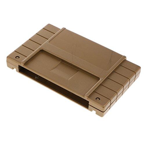 Homyl Game Cartridge Schutzhülle für Super Nintendo Entertainment System - Gold