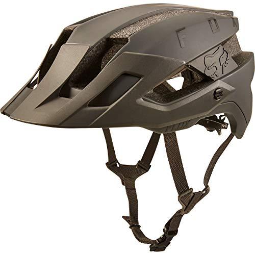 Fox Unisex– Erwachsene Flux Solid Fahrradhelm Dirt S/M