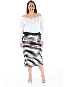Lavishco - Falda - ajustado - para mujer