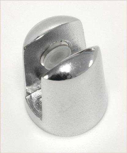 – Handles and Ironmongery – Confezione di 8 piccoli supporti placcati cromo, per mensole in vetro dello spessore di 4-6 mm confronta il prezzo online