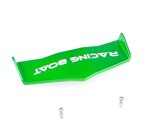 efaso Ersatzteil Boot FT009 - Heckleitwerk in grün oder orange (grün) (Rc Heckspoiler)