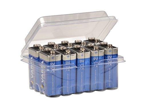 Preisvergleich Produktbild Varta 9V Block High Energy 4922 Batterie MN1604 6LR61 Alkaline 9 V, 10 Stück im Big Box Pack von wns-emg-world