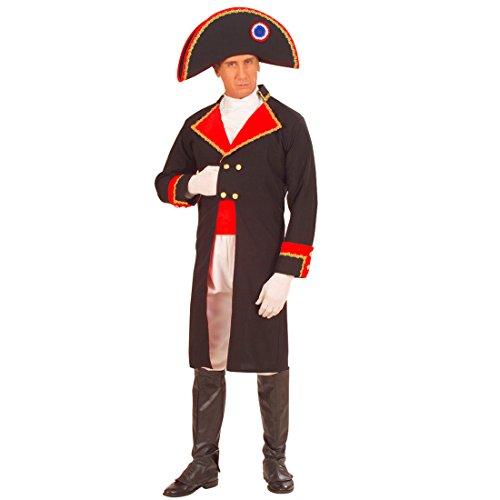 NET TOYS Napoleon Bonaparte Kostüm Fasching General Generalskostüm Faschingskostüm Herren Karneval L 50/52 (Napoleon Bonaparte Kostüm)