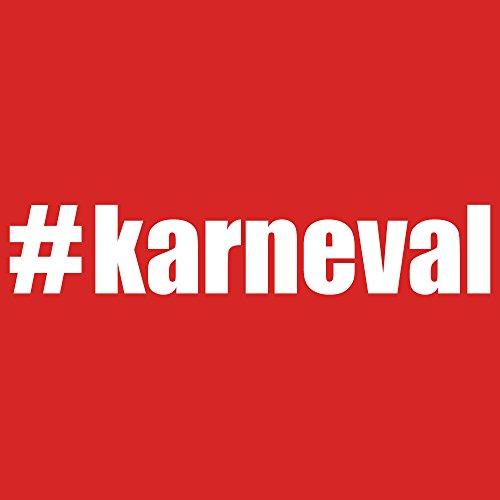 ::: #KARNEVAL ::: T-Shirt Herren Rot