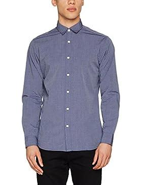 SELECTED HOMME Shhonemoonie Shirt LS Noos, Camicia Uomo
