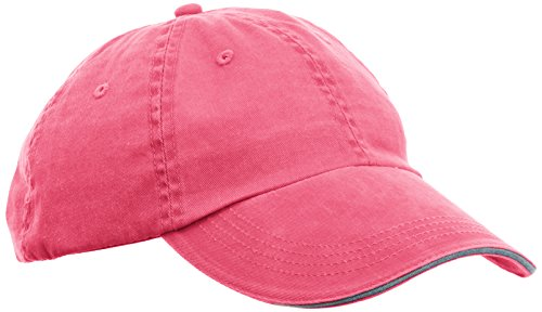 anvil Herren Low Profile Sandwich-Twill-Cap / 166, Gr. S, Pink (Flamingo Hats)
