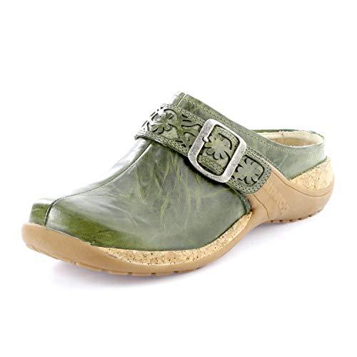 Romika Milla 122, Zuecos Mujer, Verde Oliv 630, 39