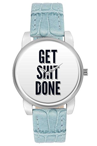 Women's Watch, BigOwl Get Shit Done Designer Analog Wrist Watch For Women - Gifts for her dials