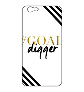 Happoz goal digger quote Oppo F1s back cases Mobile Phone Covers Panel Printed Fancy Pouches Accessories Z208