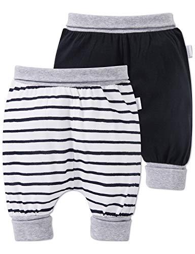 Schiesser Unisex Multi-Pack 2pack Baby Hosen 3/4 Schlafanzughose, Mehrfarbig (Sortiert 1 901), 92 (Herstellergröße: 092) (per of 2)