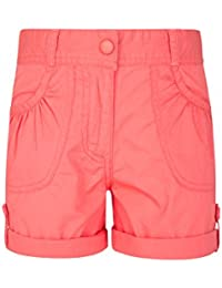 Mountain Warehouse Pantalón Corto Shore para niña - Pantalón Corto de algodón 100% para niños, pantalón Corto para Vacaciones largas, Pantalones con bajo Vuelto