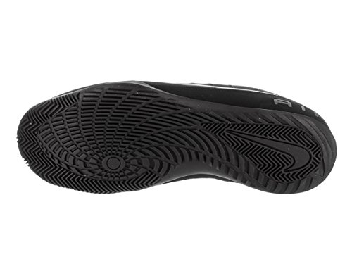 Nike Mens Air Mavin Low 2 Nbk Basketball Shoe Black/Mtlc Dark Grey
