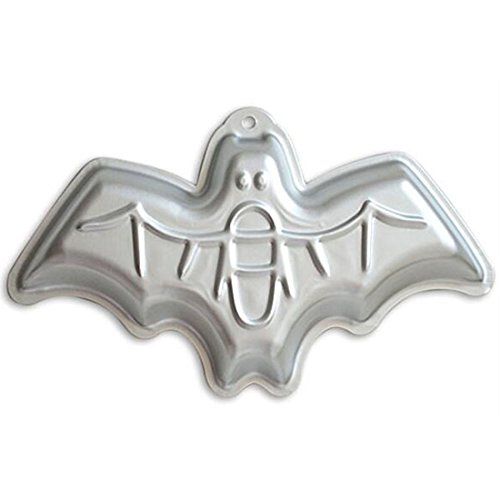 cm Fledermaus geformte Aluminium 3D Kuchen Form Backform Dose Kuchen, Pfanne für Halloween Party - Fledermaus ()