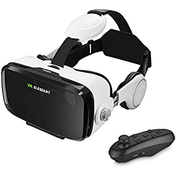 vr casque r alit virtuelle t l commande bluetooth blitzwolf vr headset lunettes 3d pour films. Black Bedroom Furniture Sets. Home Design Ideas