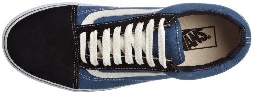 VANS Unisex-Erwachsene Old Skool Sneakers Blau/Weiß
