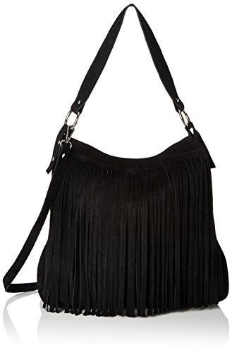 Bags4Less - Tipi, Borsa a tracolla Donna nero (nero)