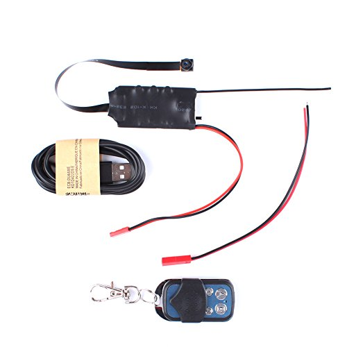 URNINAUEU HD DIY Modul Mini HD 1080P Digital Video Kamera DV DVR Motion Fernbedienung Digital-kamera-modul