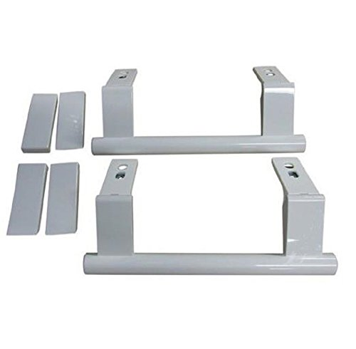 Liebherr-kit poignées (par 2) de porte combi-réfrigérateur et congélateur, entraxe de fixation: 15.5cm