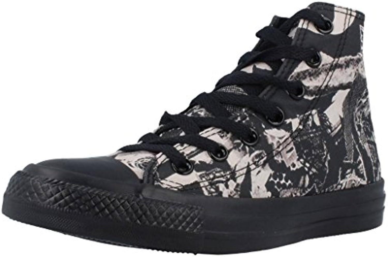 Converse Damen Chuck Taylor All Star High Hohe Sneaker  Nero/Beige